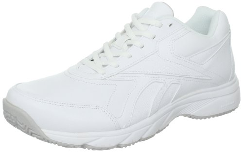 Reebok Women's Work N Cushion Walking Shoe,White,8.5 D US