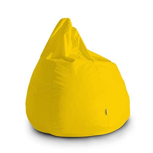 Pouf Poltrona Sacco Grande Bag L Jive 80x80x100cm Made in Italy in Tessuto antistrappo Imbottito...