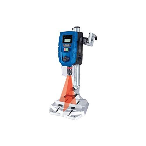 SCHEPPACH DP60 Tischbohrmaschine Bohrmaschine 13 mm LED Laser   710 W   Drehzahl: 170 – 880 / 490 – 2600 min-1   Bohrfutterspannbereich: 1,5 – 13 mm   Digitaldisplay   Laser