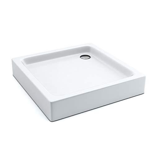 AQUABAD® Duschwanne Comfort Forta Plus 90x90cm Quadrat