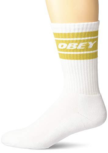 Obey calze Cooper II Socks white golden
