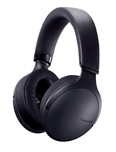Panasonic Bluetooth Kopfhörer RP-HD305BE-K (24h Akkulaufzeit, Quick-Charge, Sprachsteuerung, Over-Ear) schwarz
