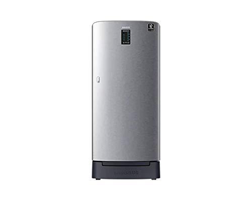 Samsung 198 L 3 Star Inverter Direct Cool Single Door Refrigerator (RR21A2D2YS8/HL, Elegant Inox)