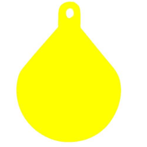 bootszubehoer-online Ankerboje/Kugelfender in orange oder gelb (gelb)