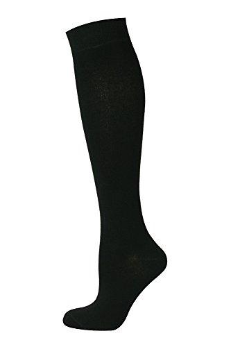 Mysocks Calzini alti al ginocchio Nero