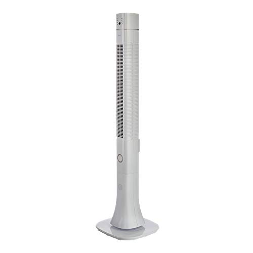 Bimar VC119 Ventilatore Colonna Ionizzante con Bluetooth Speaker da 120cm, Ventilatore a Colonna con Selettore 3 Velocit 60W, Ventilatore con Telecomando, Ionizzatore, Oscillazione Destra Sinistra