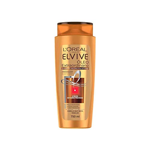 L'Oreal Paris Shampoo Arcilla Purificante Anticaspa Elvive, 750 ml