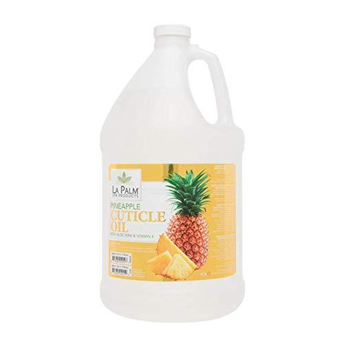 Cuticle Oil - Pineapple CLEAR -1 Gallon - With Aloe Vera & Vitamin E