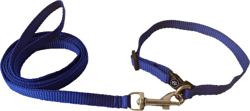 The Pets Company Nylon Leash and Collar Set X-Small, Suitable for Puppies of All Dog Breeds