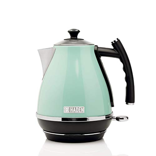 Haden Cotswold Sage Jug Kettle | 1.7 Litre With Removable Filter | Water Viewing Window And Scale |...