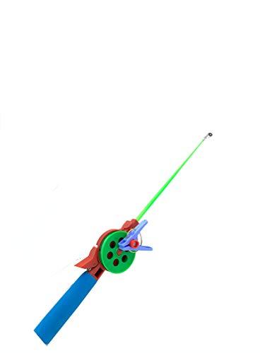 My-Fishing-World - Set da pesca al granchio con mulinello e lenza per la pesca al granchio e ad altri crostacei, perfetto per le vacanze