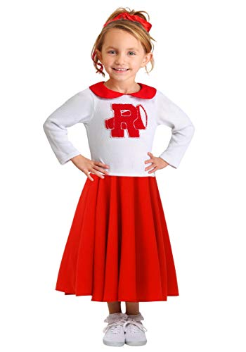 Fun Costumes Grease Rydell High Cheerleader Costume for Toddlers 18 MO Red