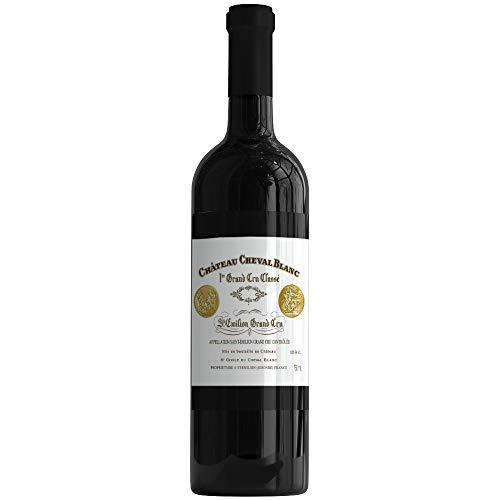 X6 Château Cheval Blanc 2015 75 cl AOC Saint-Emilion Grand Cru 1er Grand Cru Classé A Vino Tinto
