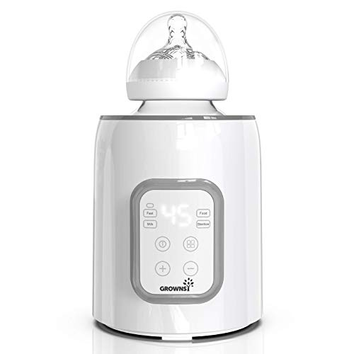 Bottle-Warmer-5-in-1-Fast-Baby-Bottle-Warmer-and-Sterilizer-with-Timer-Baby-Food-HeaterDefrost-BPA-Free-Warmer-with-LCD-Display-Accurate-Temperature-Control-for-Breastmilk-and-Formula