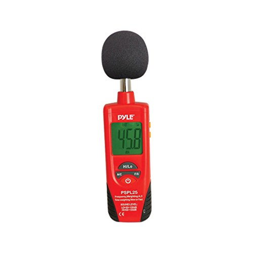 Digital Handheld Sound Level Meter - Meter Automatic with