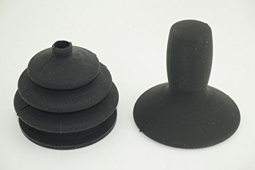 Universal - Joystick Knob & Gaiter Skirt Button Cap for Mobility Scooter Electric wheelchairs Power Wheelchair Controller