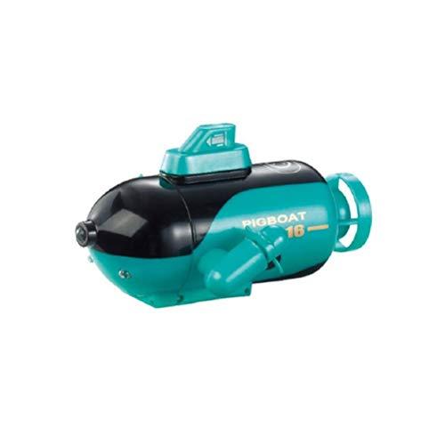 Mini Drone subacqueo, Mini RC Submarine HD Camera Subacquea Drone con FPV (Verde)