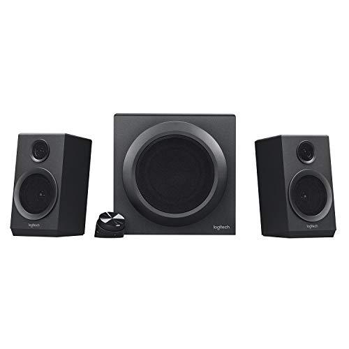 Logitech Z333 2.1 Speakers – Easy-access Volume Control, Headphone...