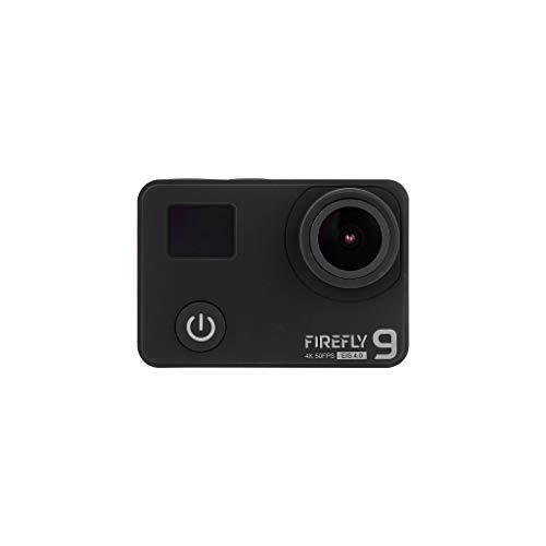 HawkEye Firefly 9 4K HDR / 24MP Action Camera con WiFi/EIS / 40M Custodia Impermeabile/Microfono Esterno/Telecomando/Batterie 2X / Treppiede