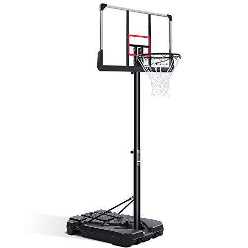 MARNUR Portable Basketball Hoop & Goal Outdoor Basketball...