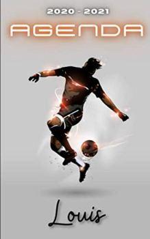 Agenda 2020 2021 Louis: Agenda Scolaire Foot Personnalisable ⚽ Cadeau pour LOUIS ⚽ Prénom Agenda personnalisé   Journalier   Football   Garçon Ado   Collège Primaire Lycée Étudiant