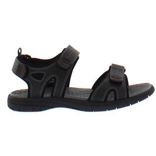 khombu. Men's Black River EVA Sandal Shoes (9)