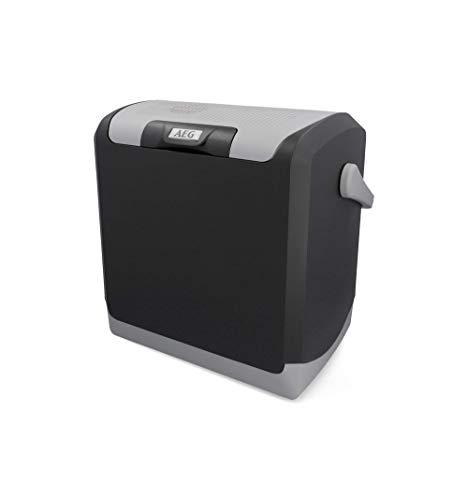 AEG Automotive 10696 Thermoelektrische Kühlbox KK 24 Liter, 12/230 Volt für Auto und Steckdose