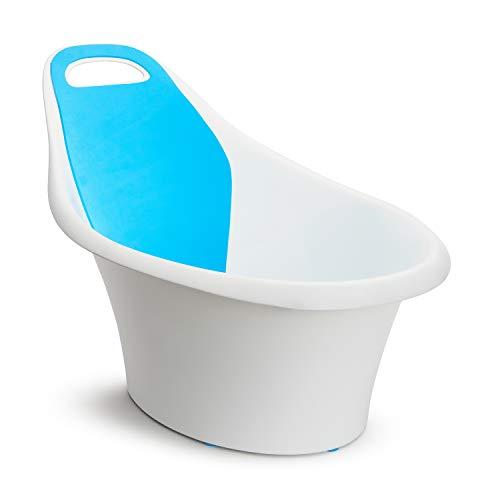 Munchkin Sit and Soak Baby Bath Hard Tub, 0-12 Months, White