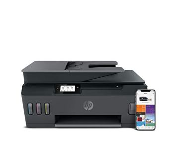 HP Smart Tank Plus 570 Wireless All-in-One Printer, Up to 3 Years of Ink in the Box, White