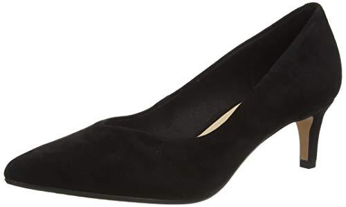 Clarks Laina55 Court, Zapatos de Tacón Mujer, Negro (Black SDE Black SDE), 39 EU