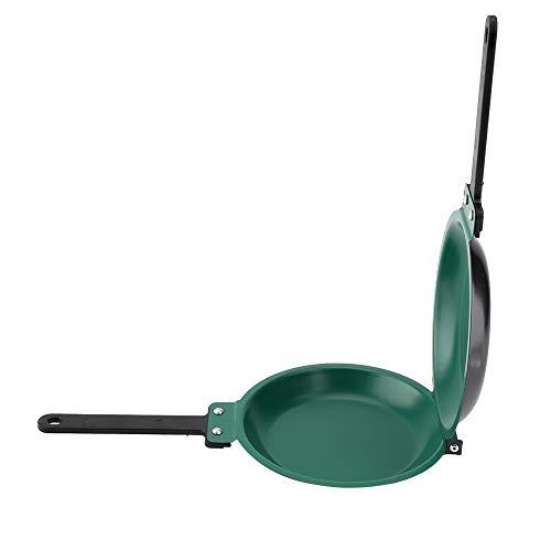 Pomya Bratpfanne, doppelseitige Keramikbeschichtung Antihaft-Flip-Bratpfanne, Spiegelei-Pfannkuchen-Hersteller-Küchen-Kochgeschirr