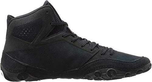 ASICS Men's Dan Gable Evo Wrestling Shoe, Black/White/Carbon, 10 Medium US