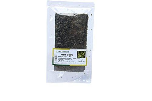 Bionsan Alga Nori Sushi Ecológica - 2 Bolsas de 25 gr - Tot