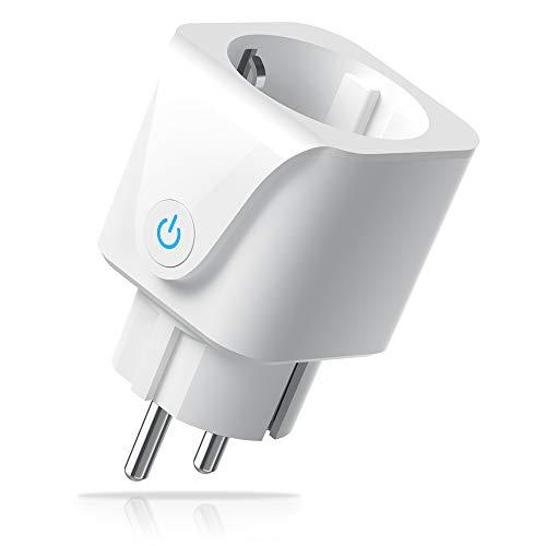 WLAN Smart Steckdose, Intelligente Plug Smart Home Steckdosen Wifi Stecker Alexa Stecker, Aoycocr Smart Plug Funktionieren mit Alexa Echo und Echo Dot, Google Home und IFTTT, Kein Hub erforderlich