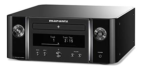 Marantz Melody X (M-CR612) HiFi Anlage, CD-Player, DAB+ Radio, Musikstreaming, HEOS Multiroom, Bluetooth und AirPlay 2, Alexa Kompatibel, 2 Optische TV-Eingänge