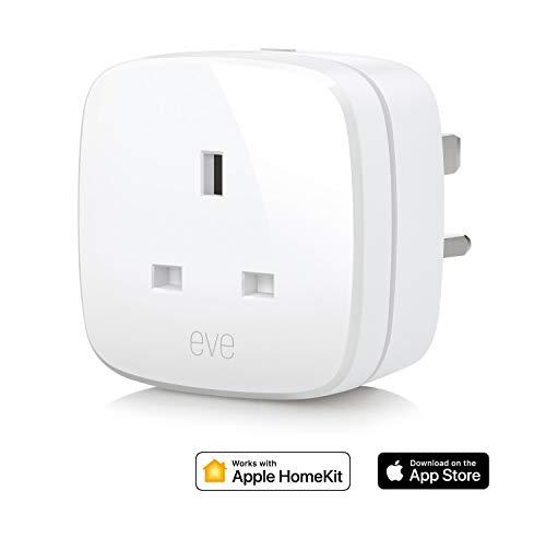 Elgato Eve Energy (UK) - Switch & Power Meter with Apple HomeKit technology, Bluetooth Low Energy