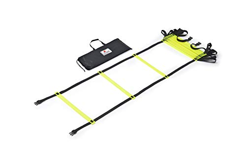 RHINOS sports Koordinationsleiter 8 Meter inkl. Tragetasche