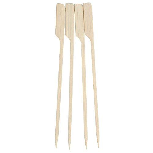 "Perfect Stix Paddle Pick 6-200 6"" Bamboo Paddle Pick Skewers (Pack of 200)"