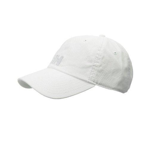 Helly Hansen Logo Cap Gorra, Hombre, Blanco (001 White), STD