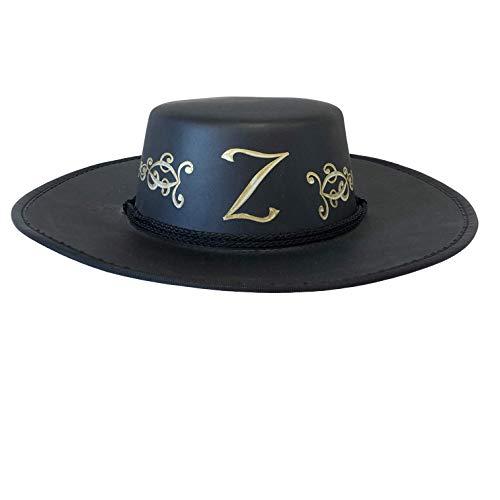 Liontouch 16009LT Cappello di Z-Bandit Giocattolo in Schiuma per Bambini, Nero | Linea di Costumi