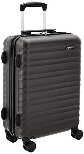 AmazonBasics - Trolley rigido utilizzabile come bagaglio a mano, approvato da Ryanair e dalla...
