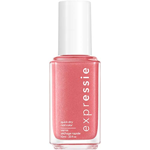 essie expressie Quick-Dry Vegan Nail Polish, Trend and Snap, 0.33 Ounce