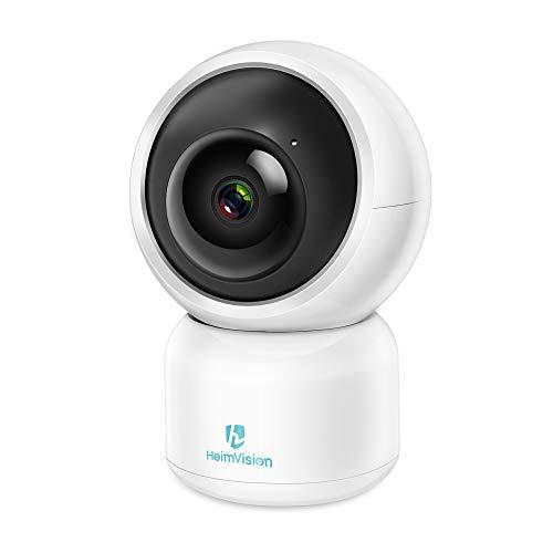 heimvision 1080P Telecamera WiFi da Interno con LAN, Video Sorveglianza Baby Monitor con PIR Sensore e Tracciatore di Movimento, Videocamere con Visione Notturna, Audio Bidirezionale