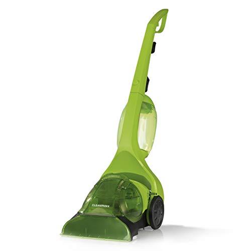 CLEANmaxx Teppichsauger Pro inkl. Shampoo | Shampoonieren und Absaugen, Inkl. Frischebehälter und Schmutzwassertank | 500 Watt [H2O Technologie, Teppichbürste]