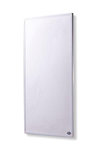 Infrarot Heizung mit Digitalthermostat 130, 300, 450, 600, 800, 1000 Watt Elektroheizung mit Stecker für Steckdose - 5 Jahre Herstellergarantie- Elektroheizung mit Überhitzungsschutz - Unsere Geräte sind geprüft auf Sicherheit durch TÜV - Heizt nach dem Prinzip der Sonne - heizt im optimalen Wellenlängenbereich von 8-15µ - Sonnenheizung - Rahmenfarbe ist weiß