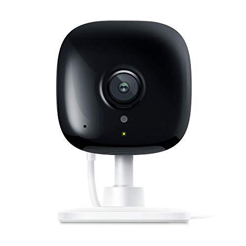 TP-Link Telecamere Wi-Fi KC100,1080p full-HD, Grandangolo 130 °, visione notturna fino a 7 m, audio bidirezionale, 2.4GHz, avvisi di attività istantanee, 12 ore di Cloud Storage Gratuito