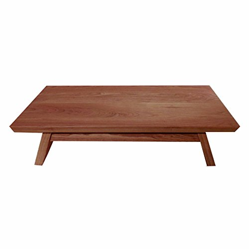 EarthBench Shrine Table - Petite Floor Altar (5' inches tall) - Solid NORTHERN CHERRY Construction for Meditation, Prayer, or Contemplative Studies.
