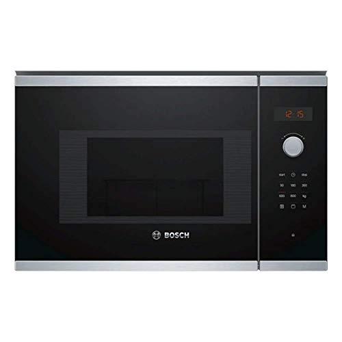 Bosch BEL523MS0 Incasso 20L 800W Nero, Acciaio inossidabile forno a microonde
