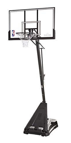 Spalding NBA Hercules Pro Glide Advanced Lift Portable...