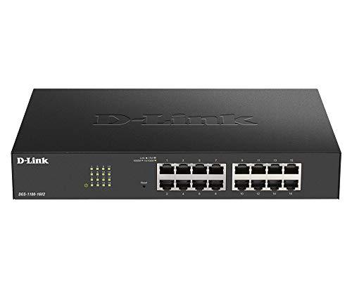D-Link DGS-1100-16V2 Smart Switch Gestito, 16...